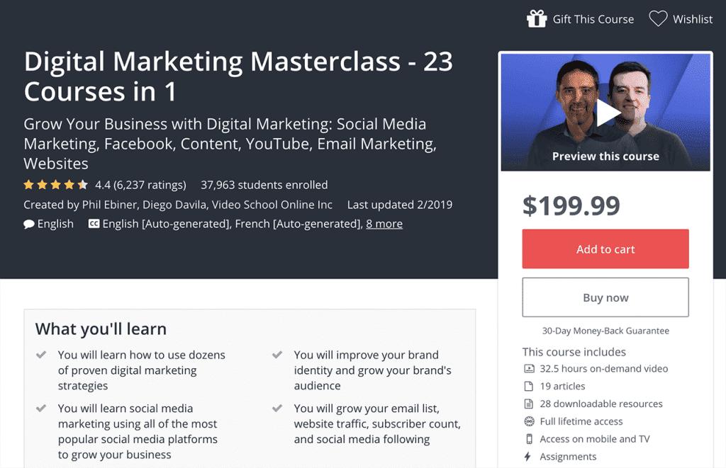 digital marketing masterclass image