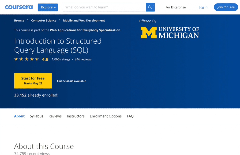 introduction to SQL image