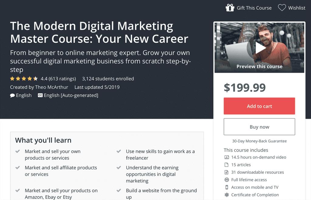 the modern digital marketing image