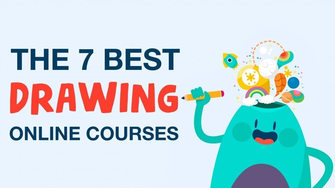 drawing online courses feature image