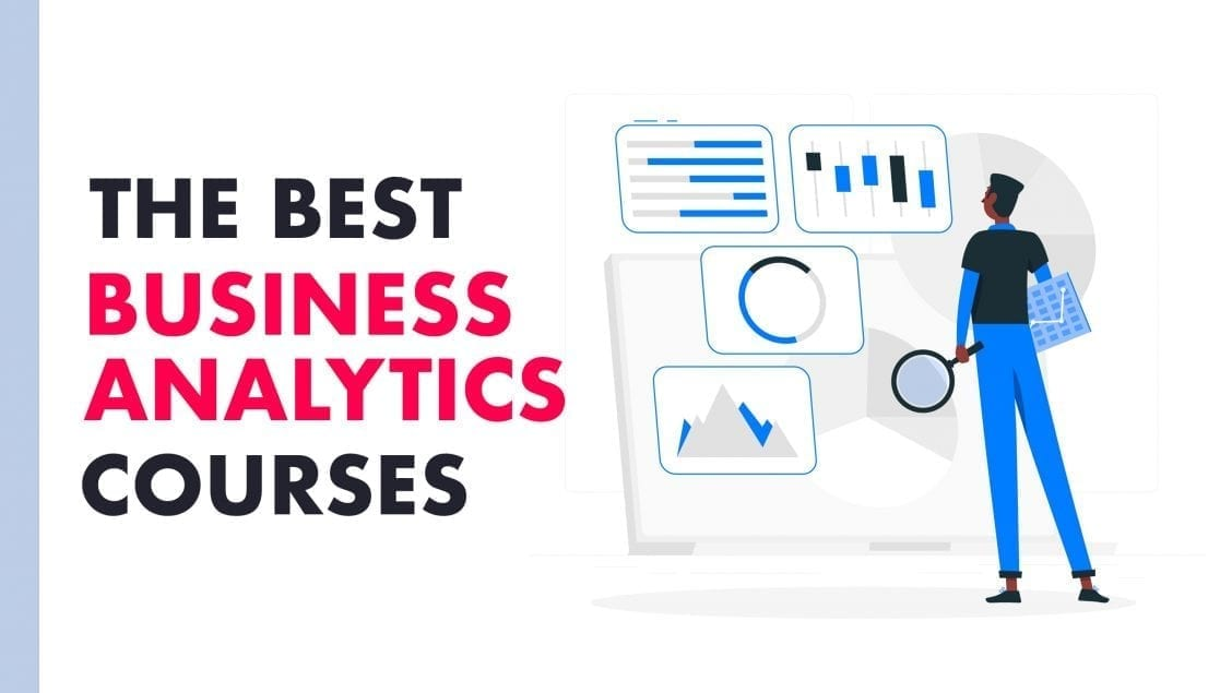 business analytics courses feature graphic