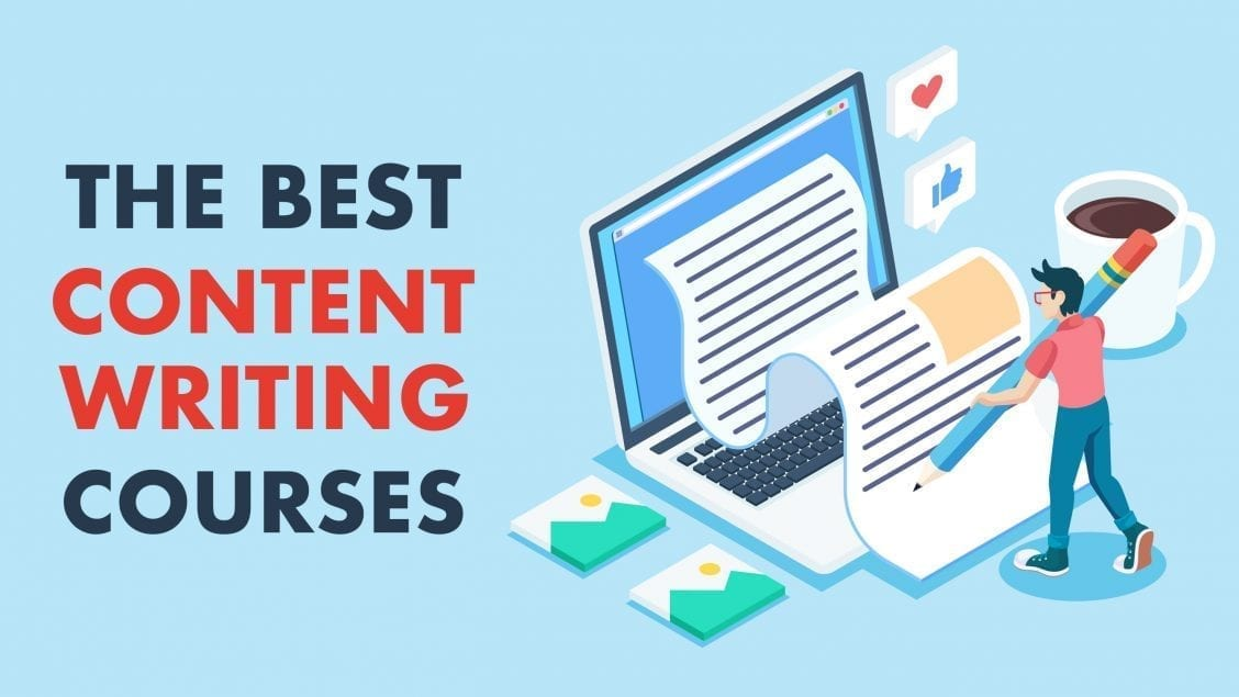 content writing courses feature image