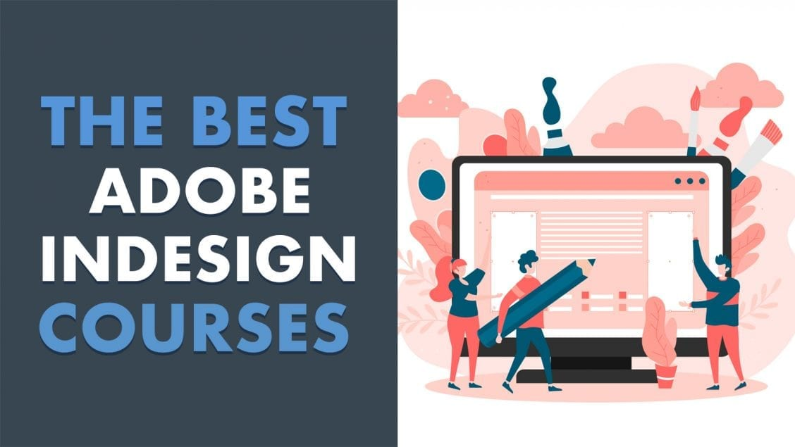 best adobe indesign online courses feature image