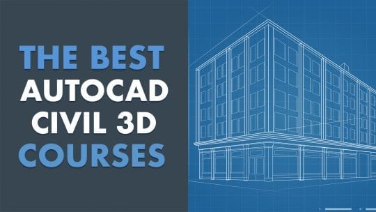 best autocad civil 3d online courses feature image