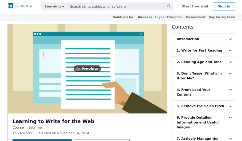 5 Best Content Writing Courses Classes And Online Tutorials